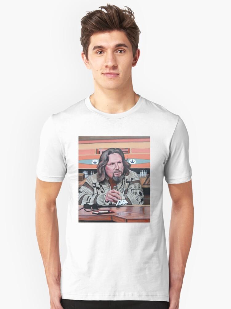 Alternate view of Jeffrey Lebowski Slim Fit T-Shirt