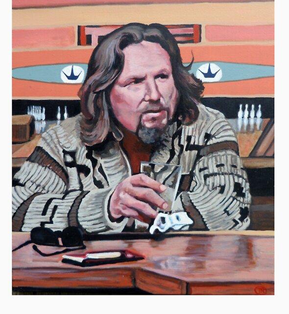 Jeffrey Lebowski by Tom Roderick
