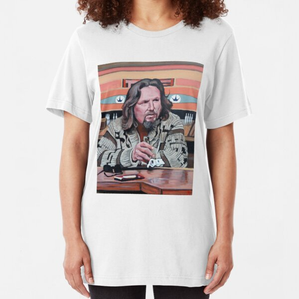 Jeffrey Lebowski Slim Fit T-Shirt