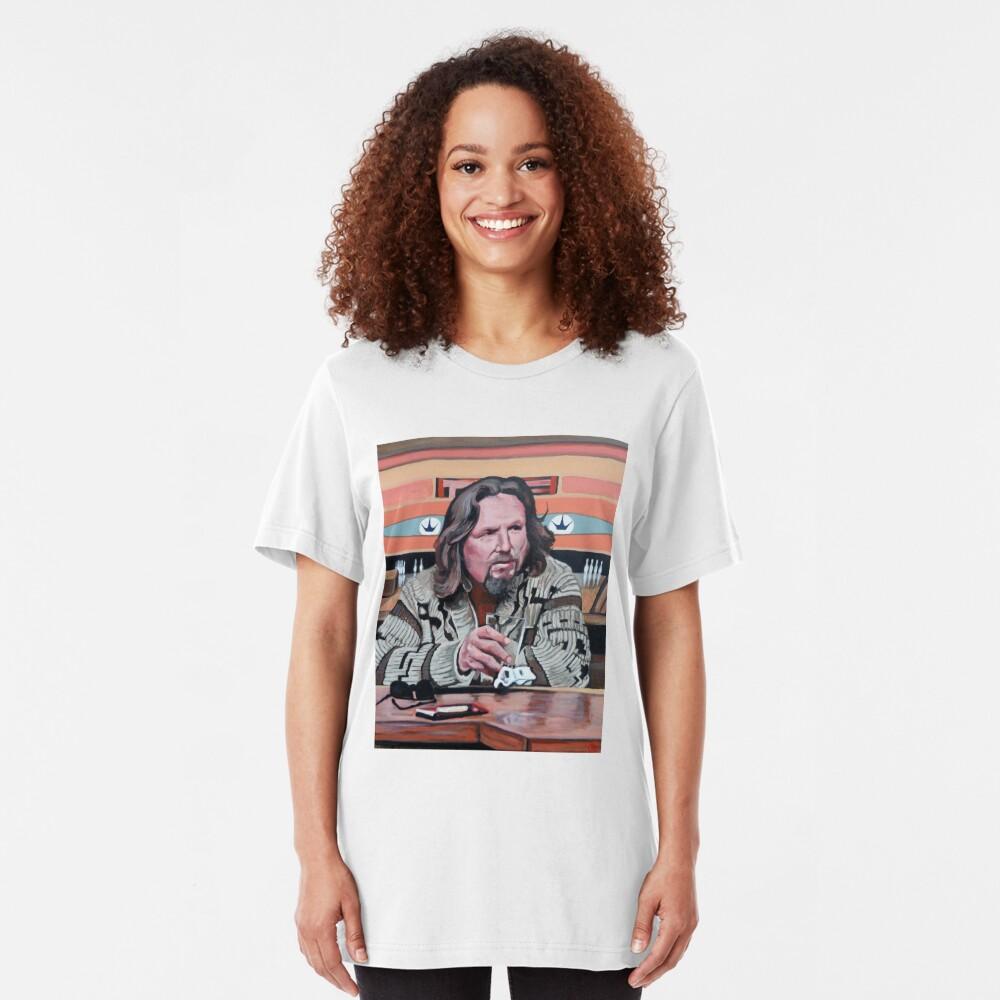 Jeffrey Lebowski Slim Fit T-Shirt
