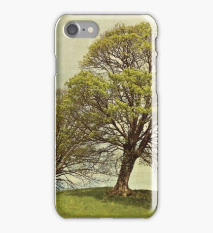 On top of the hill iPhone Case/Skin