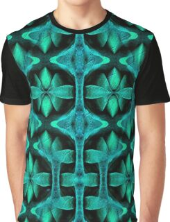 Shades of Turquoise Design Graphic T-Shirt