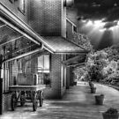 The Old Railroad Depot by LarryB007