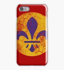 Vintage Grunge St Louis Missouri Fleur De Lis iPhone Case/Skin