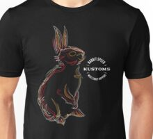 Rabbit Speed Pinstripe Bunny Two Unisex T-Shirt