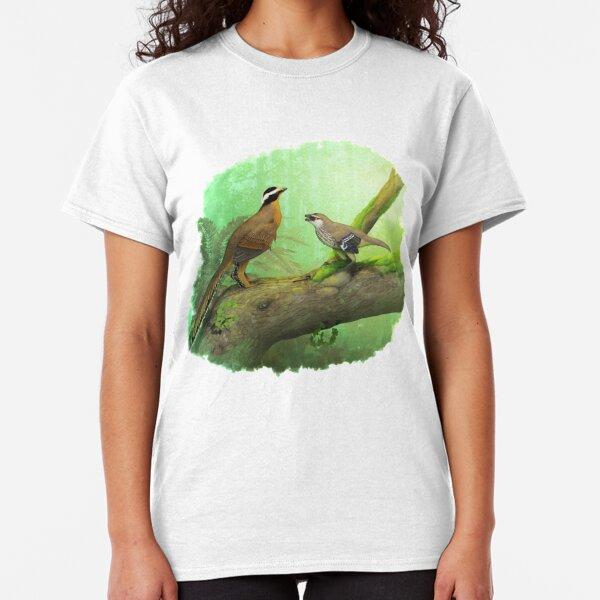 Aurornis and Eosinopteryx fight! Classic T-Shirt