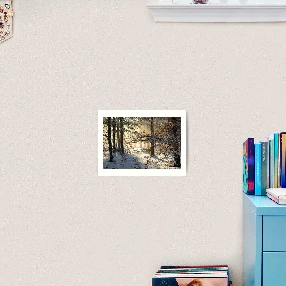 Filtering through  Art Print