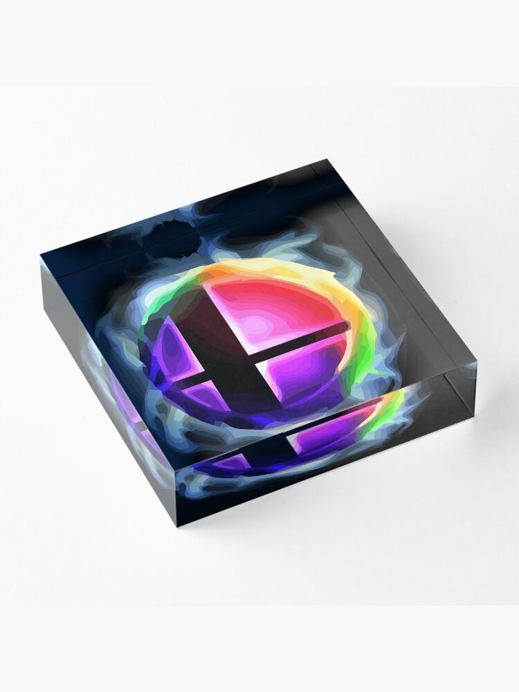 Alternate view of Smash Ball Acrylic Block