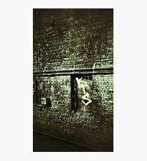 train station wall Photographic Print