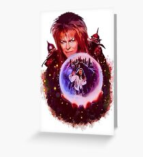 labyrinth Greeting Card