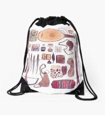 Bard's Inventory Drawstring Bag
