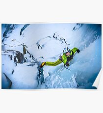 Cryotherapy Ice Climbing Poster