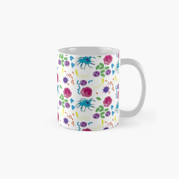 Invaders and Defenders in colour Classic Mug