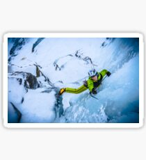 Cryotherapy Ice Climbing Sticker
