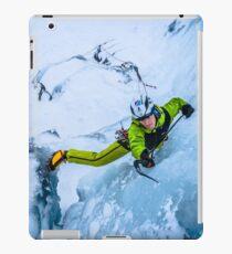 Cryotherapy Ice Climbing iPad Case/Skin