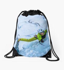 Cryotherapy Ice Climbing Drawstring Bag