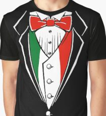 Mexican Colors Tuxedo Graphic T-Shirt