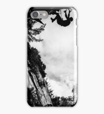 Dry Tool Climber Greg Boswell iPhone Case/Skin