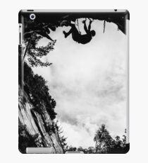 Dry Tool Climber Greg Boswell iPad Case/Skin