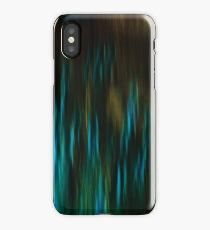 Thistles in Blue iPhone Case/Skin