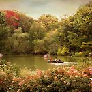 Central Park Rowers by Jessica Jenney