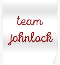 Team Johnlock  Poster
