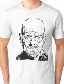 Breaking Bad: Heisenberg stencil Unisex T-Shirt