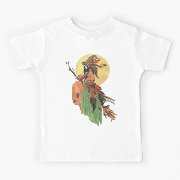 Autumn Witch Kids T-Shirt