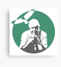 Sir David Attenborough Canvas Print