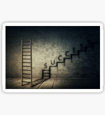 success stairway Sticker