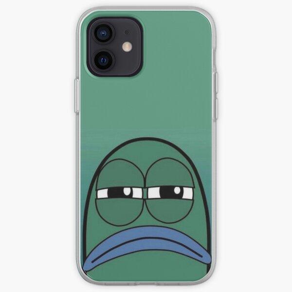 spongebob mad fish iPhone Soft Case