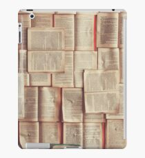 Pages iPad Case/Skin