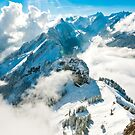 View towards Santis, Switzerland by Stephen Knowles