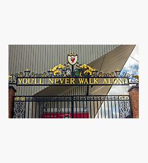 The Shankly Gates - Anfield Photographic Print