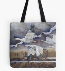 Geese in the Skagit Valley Tote Bag