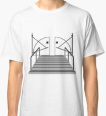 Doorway to House Starck - Black on Clear Classic T-Shirt