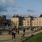 Jardin de Luxembourg, Paris, Winter 2004 by Andrew Jones