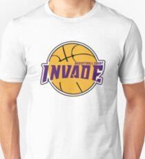Invade Basketball Unisex T-Shirt
