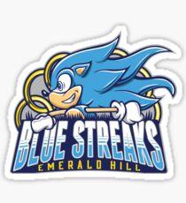 EH Blue Streaks Sticker