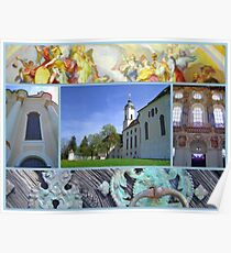 Wieskirche UNESCO world heritage site Poster