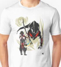 Custom Nargacuga vs. Hunter Unisex T-Shirt