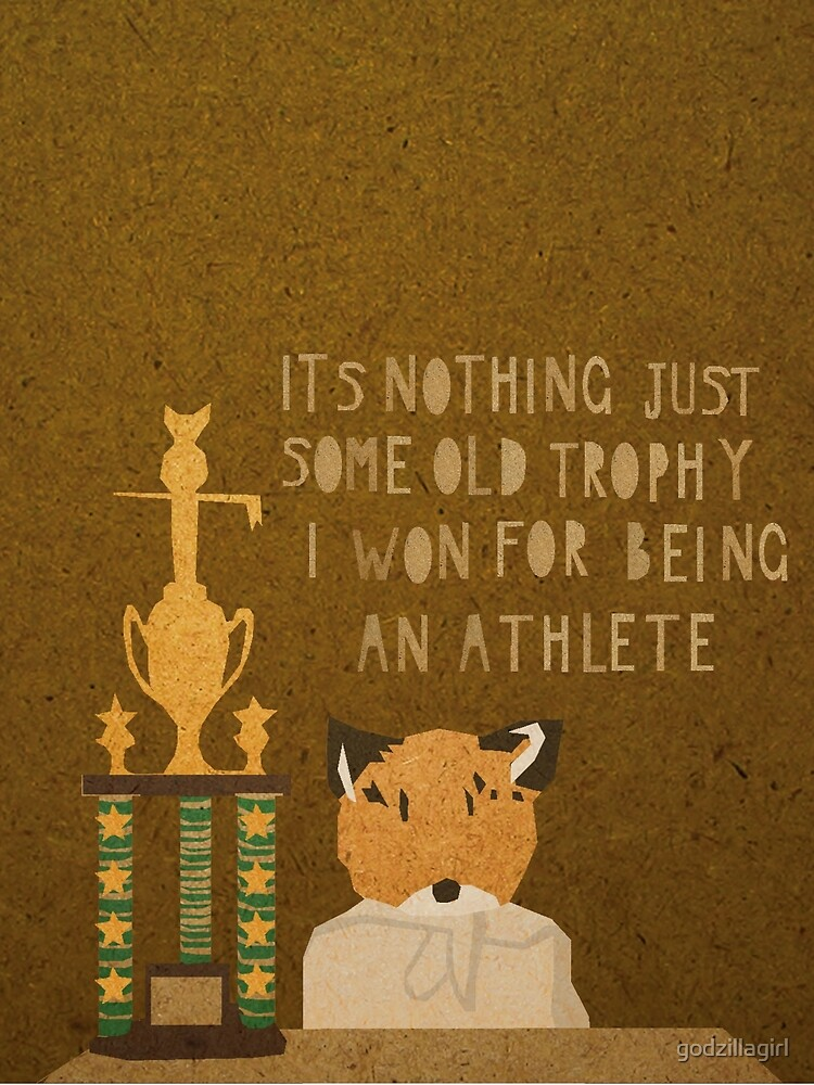 It's nothing. It's just some old trophy I won for being an athlete. by godzillagirl
