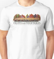 A World of Fruits & Vegetables Unisex T-Shirt