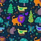 Magical Forrest Creatures by joanherlinger