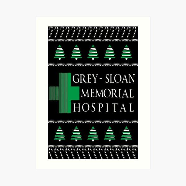 Grey Sloan Memorial Hospital T shirt Lámina artística