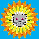 Flower cat by Cosmodious