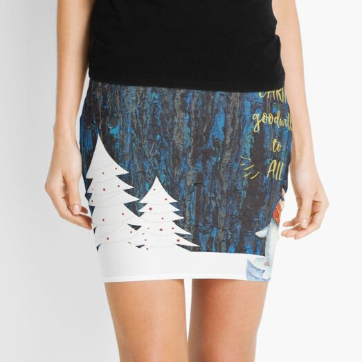 Lost in the Forest Mini Skirt
