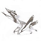 Germanodactylus rhamphastinus, the weird german flier. by DubstepAddict