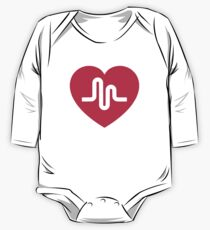 Musically musical.ly musicly heart One Piece - Long Sleeve