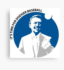 Vin Scully Canvas Print